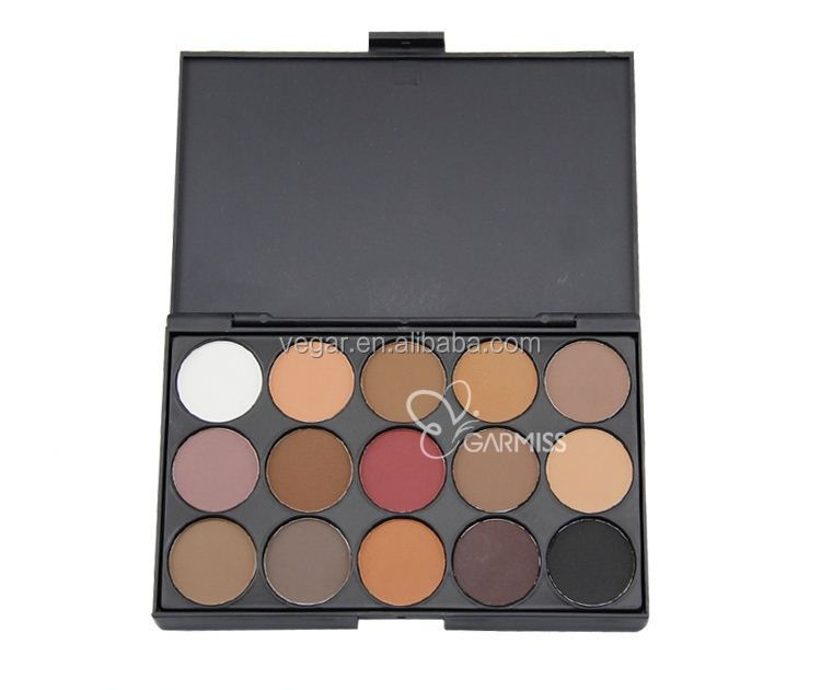 gel gitter eyeshadow No logo 15 color Matte Eyeshadow Palette