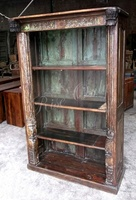 Rise Only antique door french style wood bookcase bookshelf designs large bookcase