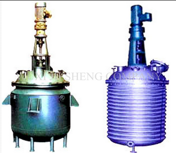 stainless steel biodiesel reactor with jacket or half pipe
