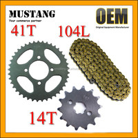CD70 for Honda Shine Sprocket Chain Kits
