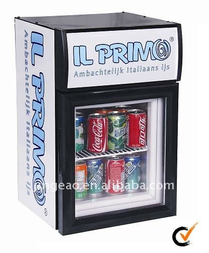 20L mini display freezer,ice cream chiller