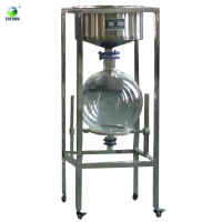 Hot sale 50L Lab Vacuum Stainless Steel Filter with cushion flask of TOPTION