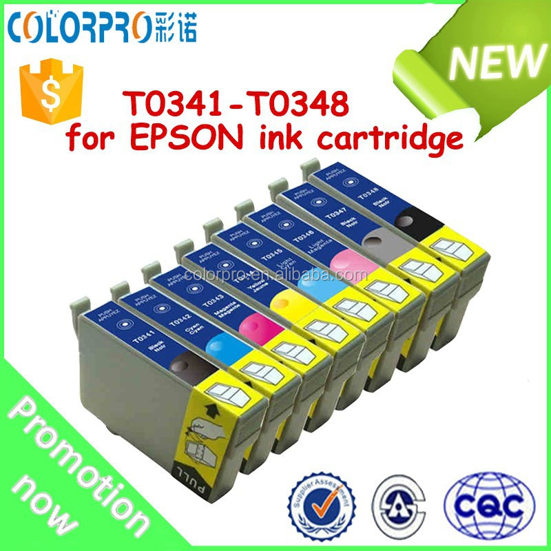 Compatible toner ink cartridge T0341-T0348 for EPSON