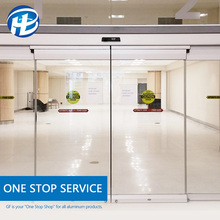 wholesale office commercial Auto Sliding window & door sliding Automatic Glass Door