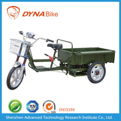 Hot selling 500-1500W Brushless Motor Lead Acid Battery Operated Electric Pedal Cargo Tricycle