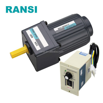 15w Single Phase Ac Motor Speed Controller With Gearbox