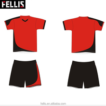 2018 Wholesale Kids Polyester Soccer Jersey