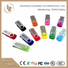 Cheapest 4gb 8gb usb 2.0 swivel usb flash drive stick memory pen drive ,free color custom print logo printing