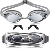Silicone Swim Goggles With Anti Fog