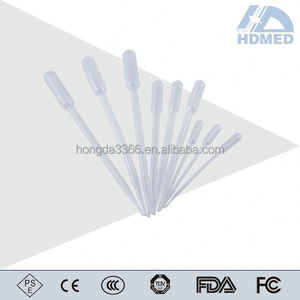 Plastic 3ml Disposable Transfer Pipet