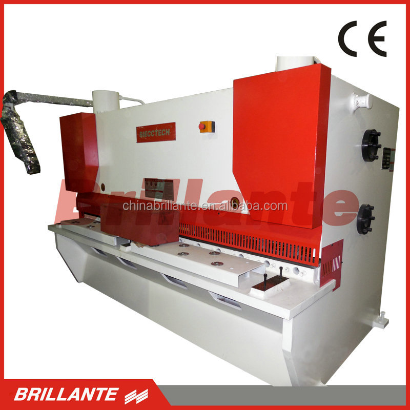 QC12Y/<strong>K</strong> Hydraulic CNC Swing Beam Shearing Machine / Pendulum Plate Shear /Metal Cutting Machine