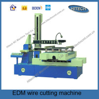 DK77100 chinese cnc EDM brass wire cutting machine low price