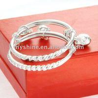 MYSHINE handmade sterling silver baby birth gift