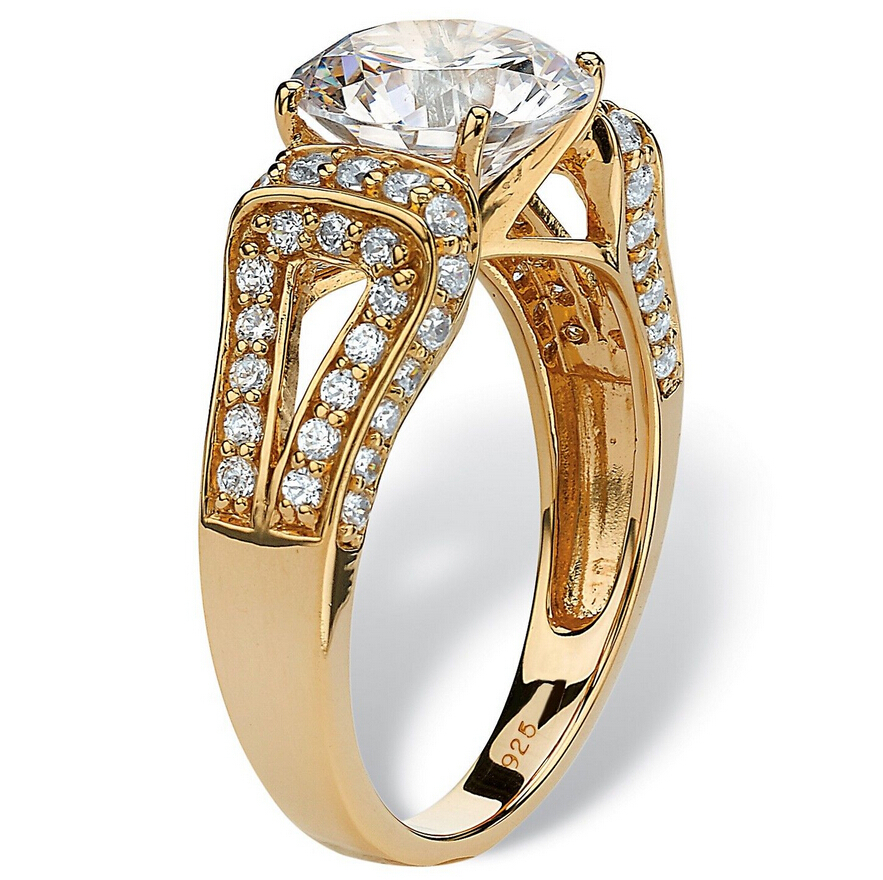 Newest Fashion cubic zircon Tanishq Gold Jewellery Rings, View ...