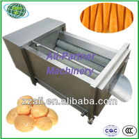 Good quality industry brush cleaning peeling machine