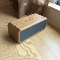 Computer,Mobile Phone,Portable Audio Player Use and Active Type portable Bamboo Bluetooth speaker
