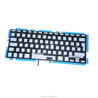 "New Europe Layout keyboard With Backlight Replacement For Laptops Apple Macbook Pro 13"" 2009-2012 A1278 keyboards"