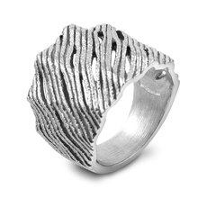 Zhongzhe Jewelry Personalized Stainless Steel Mens Punk Vintag Finger Ring, OEM/ODM Accept