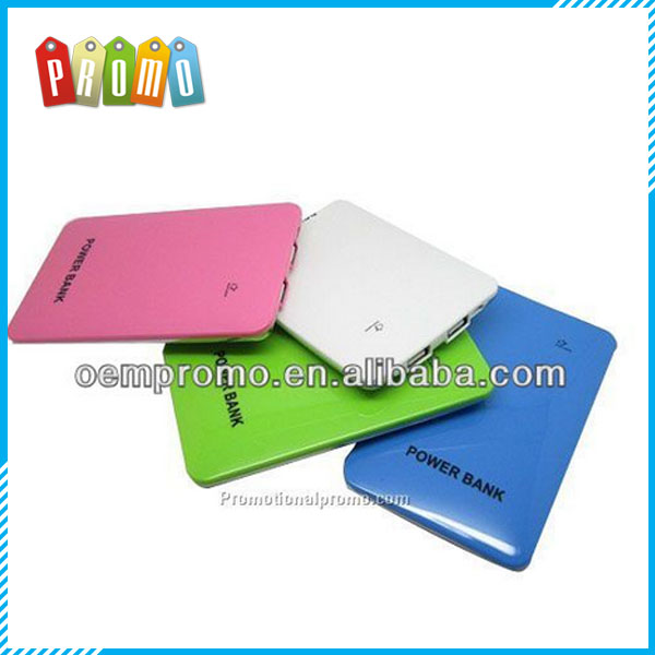 8000mAh promotional mobile power