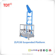 Professional manufacturer of single person suspended platform/swing stage/ construction cradle