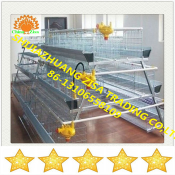 battery layer chicken cage system equipment from zisa