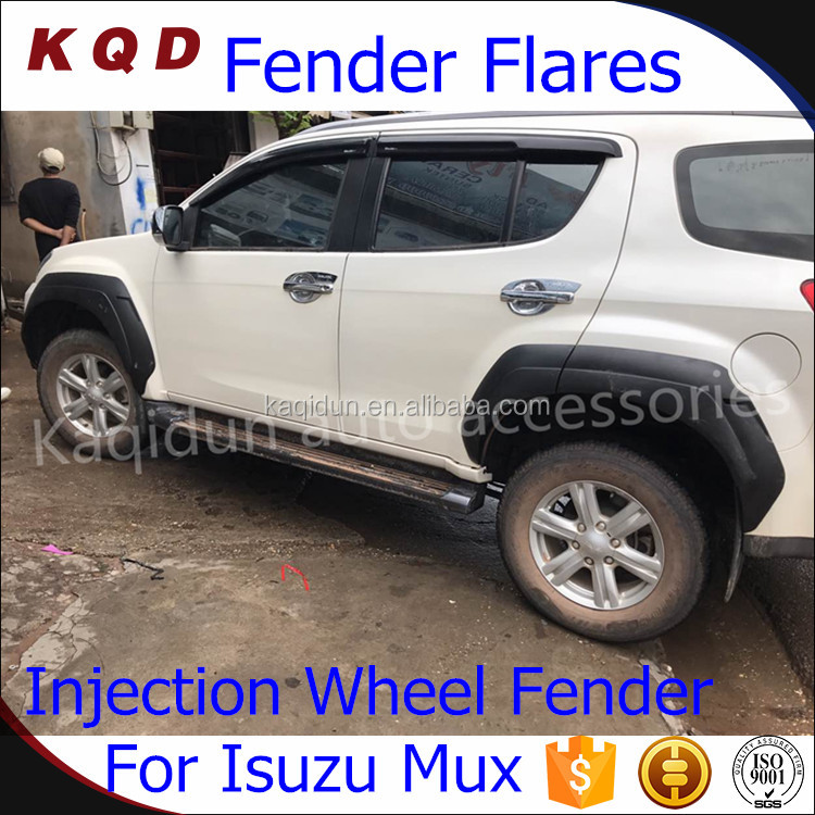 ABS INJECTION Fender flares for MUX wheel arch fender flares mux 2016 accessories