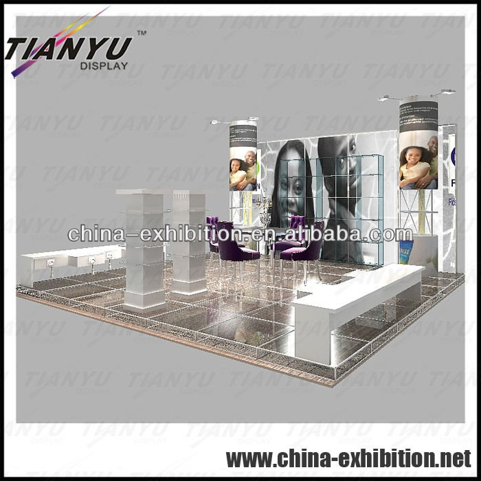 20' x 20' Exhibition Booth design & construction