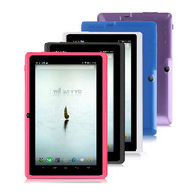 7 inch Tablet PC android 4.4 operating system video player display with Bluetooth wifi