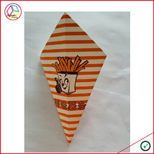 High Quality Custom Printing French Fries Paper Cone