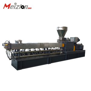 Machine for making WPC products made from recycled wood and plastic material wood plastic machine