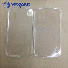 soft tpu silicon transparent clear case for lg nexus4 back cover cellphone case