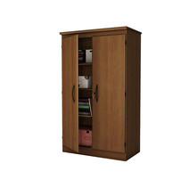Modern Design MDF Wooden Upright Storage Cabinet with Shelf