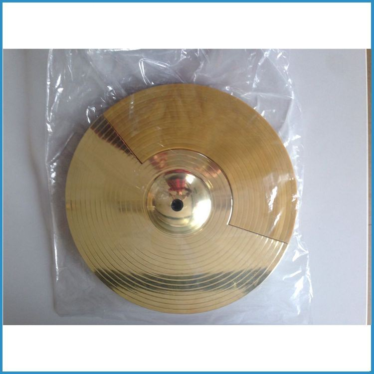 golden color cymbal only for electronic drum , golden electronic cymbal , hihat/crash/ride cymbal