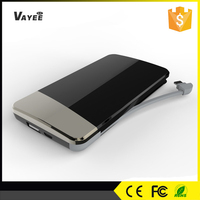 Hot new products made in china 8000mah fast charging power bank for samsung tablet