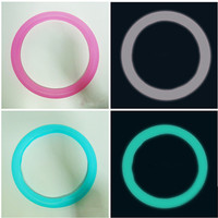 Multi Color Luminous Steering Wheel Cover Newly Silicone Auto Steering Wheel Covers