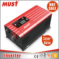 MUST Single Phase Off Grid 1000W 12V 220V Inverter For Inductive Load for Home Power System