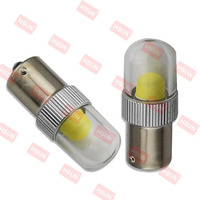 2015 high power 10W like halogen bulbs light effect P21W 1156 BA15S led amp for car auto parts