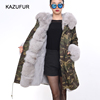 KZ160172 Women Winter Warm Fashion Real