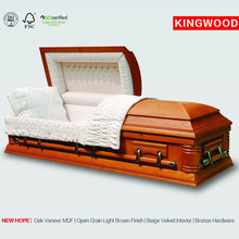wholesale prices coffins NEW HOPE plywood casket china Wood casket
