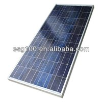 100W High-efficiency poly solar cell solar panel