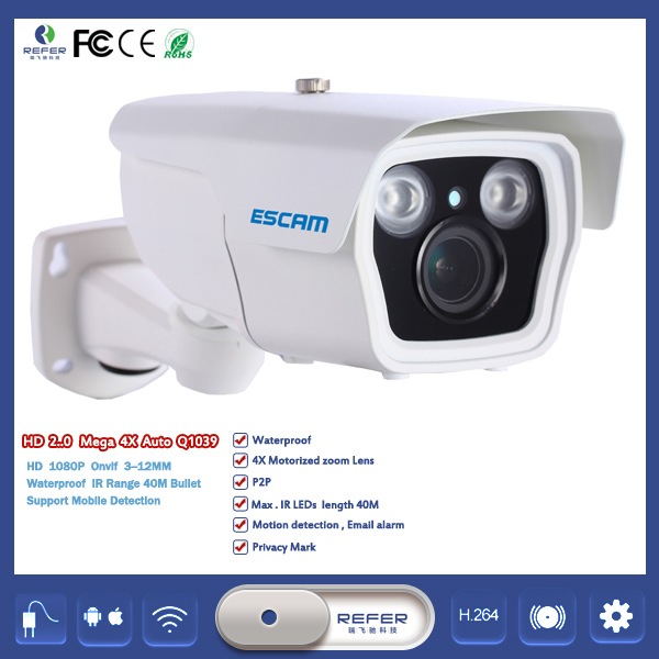ESCAM Q1039 HD 1080P DVR Mini Wifi IP Camera Wireless Network Hidden Spy Security Camera CCTV