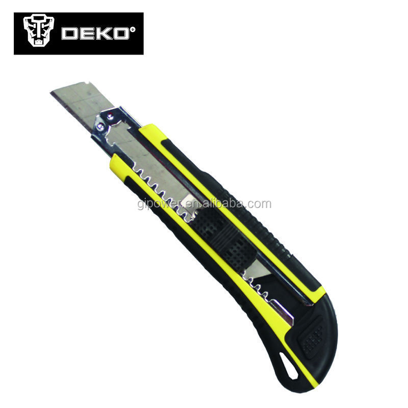 safety cutter knife rubber cutting hot knife safety utility knife DEKO