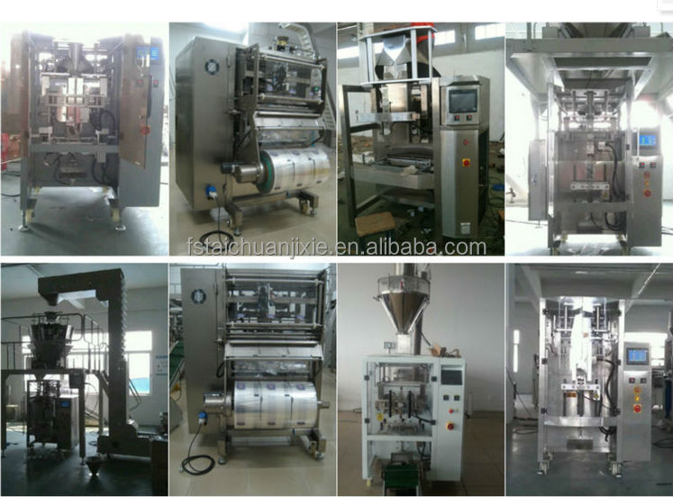 Automatic feeding weighing potato chips dumplings chocolate and puffed food packing machine TCLB-420Z