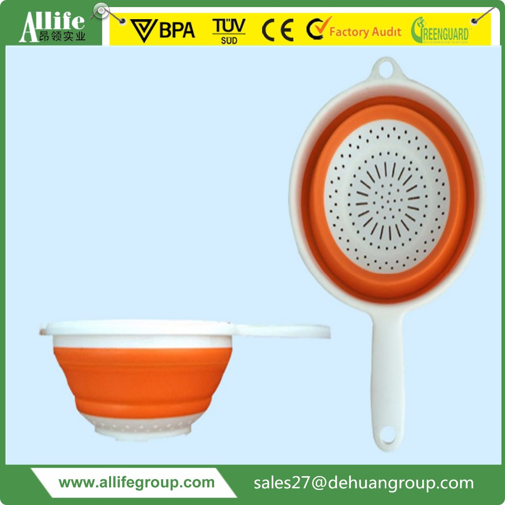 Plastic Foldable Square Bucket/Basket High Quality Oval Folding Pail