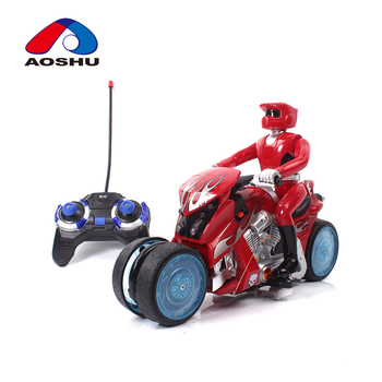 Super cool design lighting electric cross country drift rc motorcycle with music
