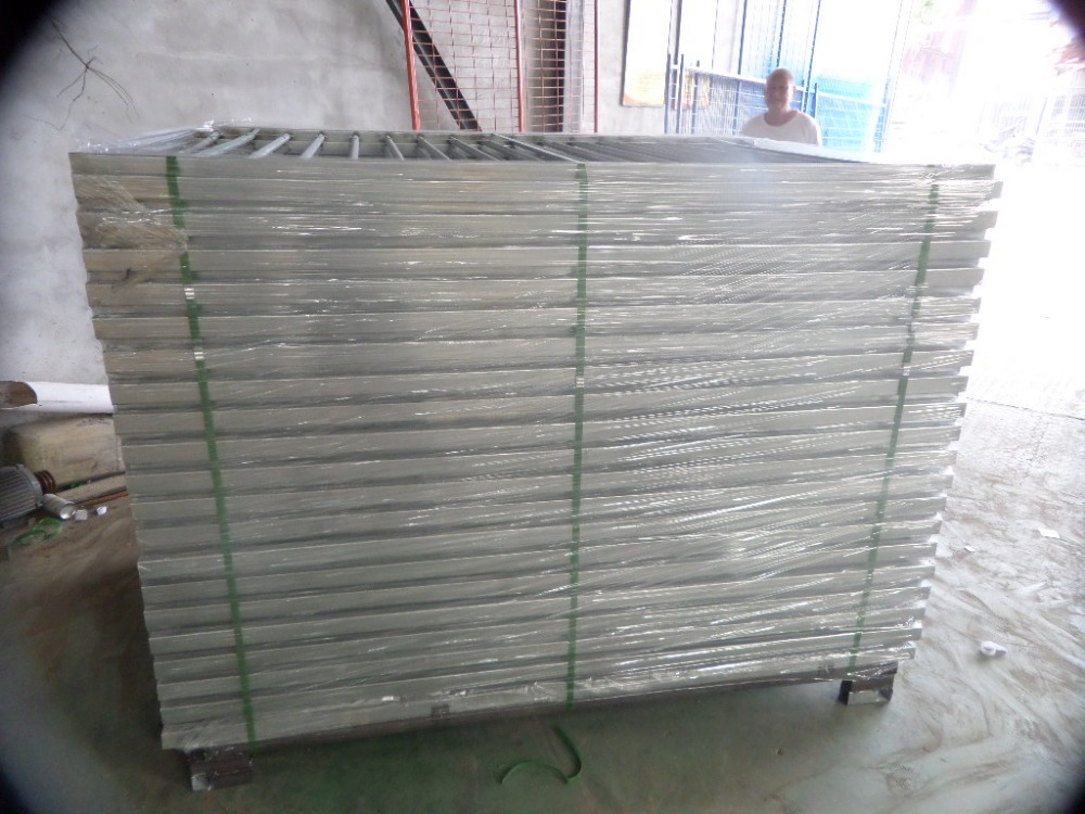 hot dipped galvanized Safety removable temporary swimming pool fence
