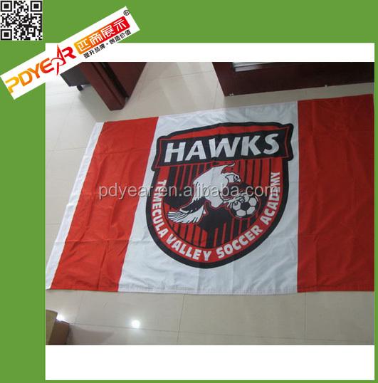 Factory wholesale custom advertising promotional flag banners