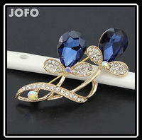 Most Popular Promotion Useful Suitable Fashion Teardrop Crystal Brooch DRJ0210