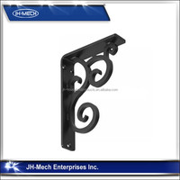 decorative hign precision iron shelf brackets
