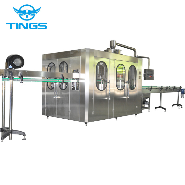 3 In 1 Full Automatic Drinking Water Washing Filling Capping Machine/water Plant Machinery